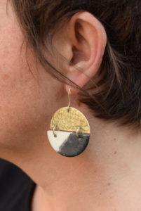 boucles d'oreilles céramique bijoux amelie bertheas