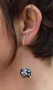 boucles d'oreilles ceramique-laiton amelie bertheas